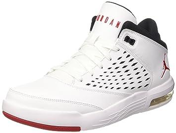 Nike Jordan Flight Origin 4, Scarpe da Basket Uomo, Multicolore (Thunder BlueWhite)