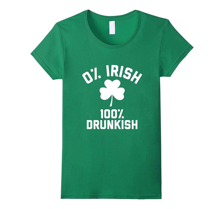 Womens IRISH DRUNKISH Saint Patricks