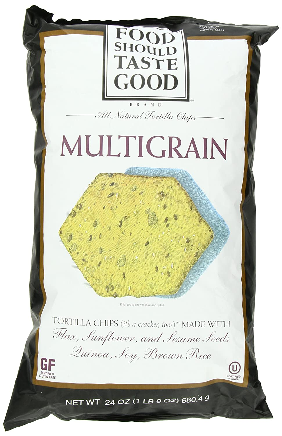 Food Should Taste Good Multigrain Tortilla Chips, 24 Ounce