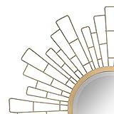 Stonebriar Round Decorative Antique Gold
