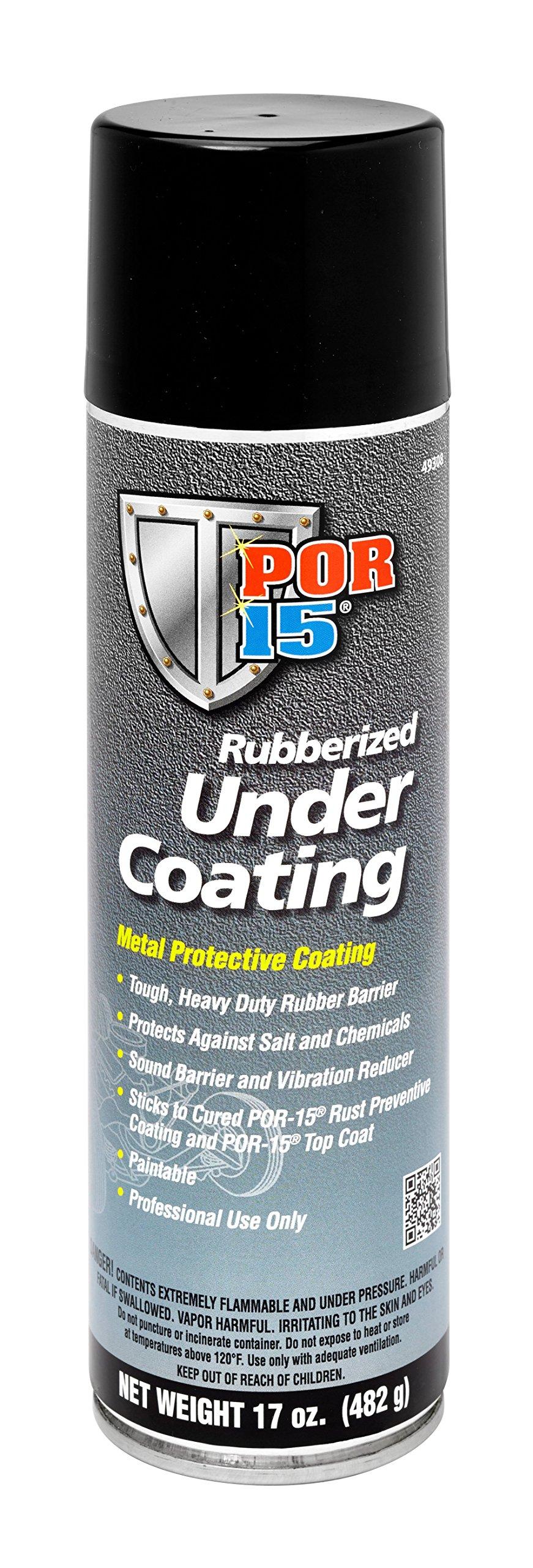 POR-15 49308 Rubberized Under Coating - 17 fl. oz.