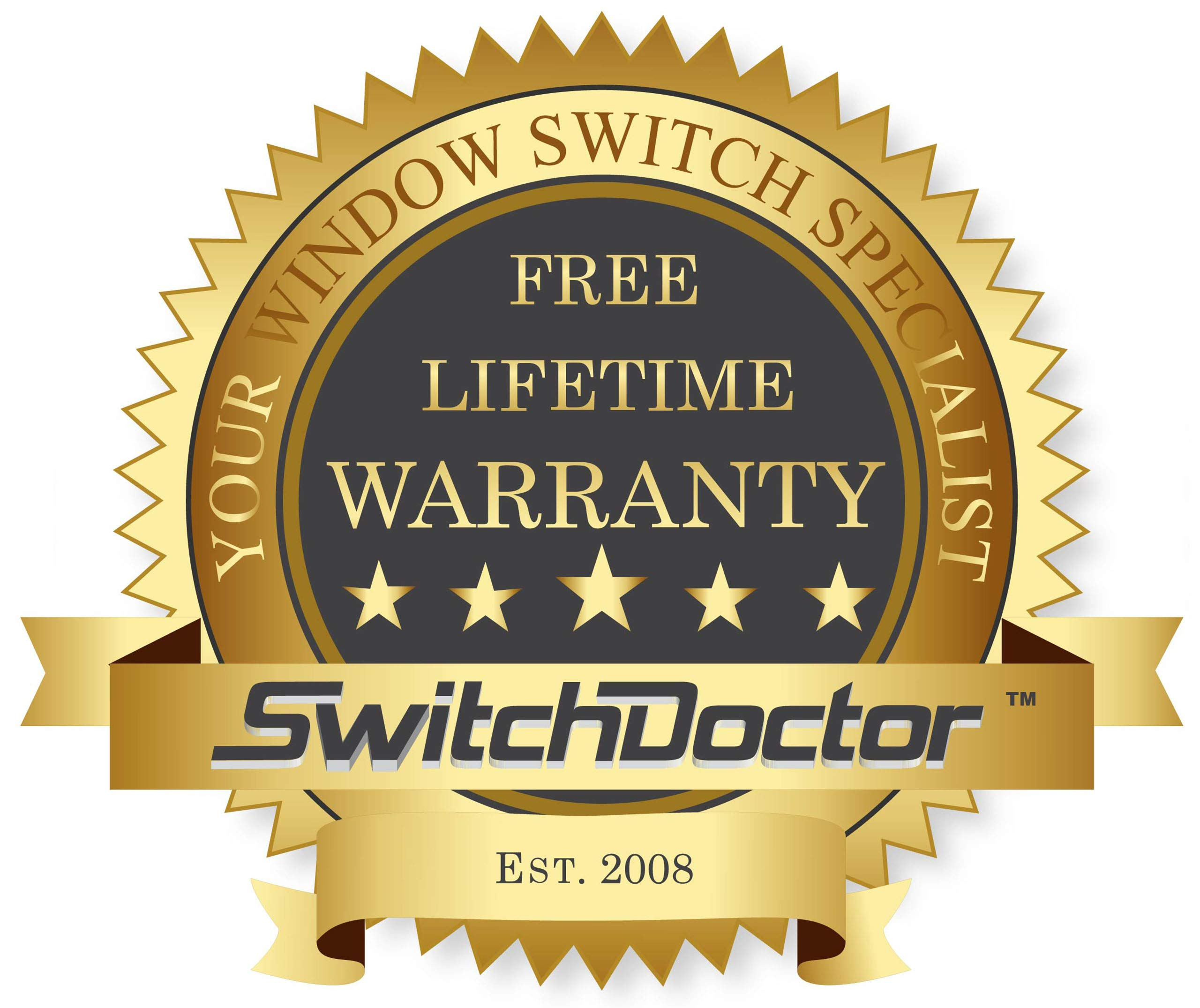 SWITCHDOCTOR Window Master Switch for 2001-2004 Toyota Tacoma (4 Door) by SWITCHDOCTOR