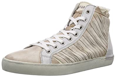 CAFèNOIR Sneaker, Baskets hautes femme - Beige - Beige (273 TAUPE), 36 EU
