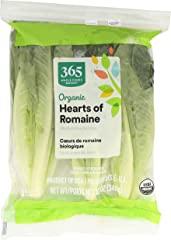 365 Everyday Value, Romaine Hearts Salad Bag Organic, 12 Ounce
