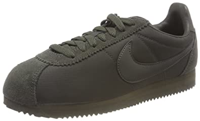 Nike Herren Classic Cortez Nylon Gymnastikschuhe, Grün (Sequoiasequoiawhite  301), 39 EU