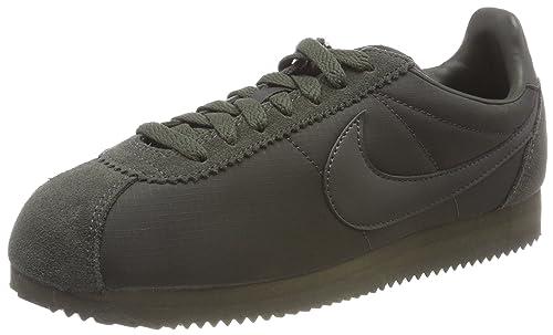 finest selection 4b5ba aad86 Nike Classic Cortez Nylon Zapatillas de Gimnasia para Hombre, Verde  (Sequoiasequoiawhite 301) 47.5 EU Amazon.es Zapatos y complementos