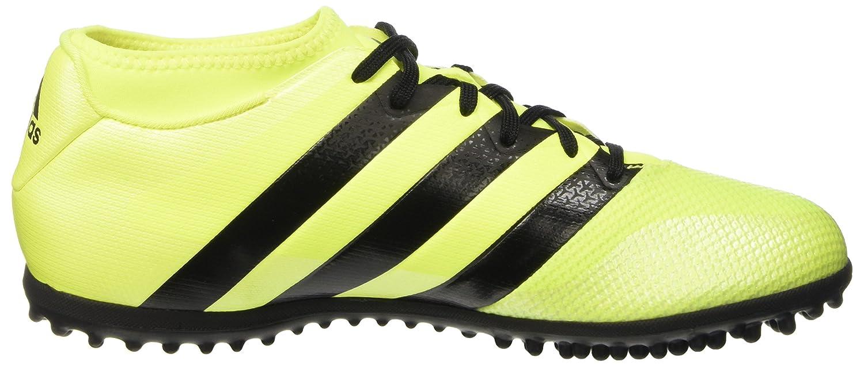 adidas Herren Ace 16.3 Primemesh TF Fußballschuhe, Gelb (Solar Yellow/Core Black/Silver Metallic), 44 2/3 EU