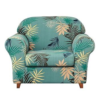 Amazon.com: Subrtex - Fundas elásticas para sofá (2 unidades ...