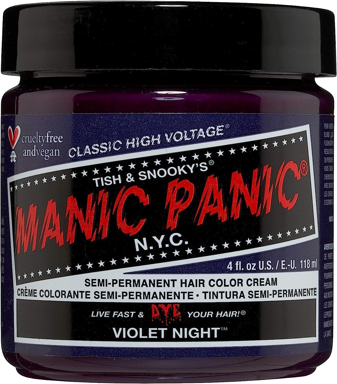 Manic Panic - Violet Night Classic Creme Vegan Cruelty Free Semi-Permanent Hair Colour 118ml