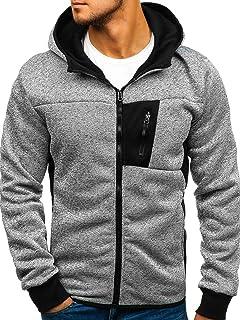 BOLF Mens Hoodies Sweatshirt Jacket Pullover Hoodie Jumper Sweater 1A1 Classic