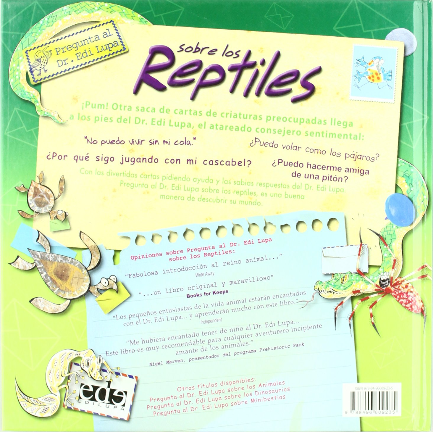 Pregunta al Dr Edi Lupa acerca de los reptiles: CLAIRE ...