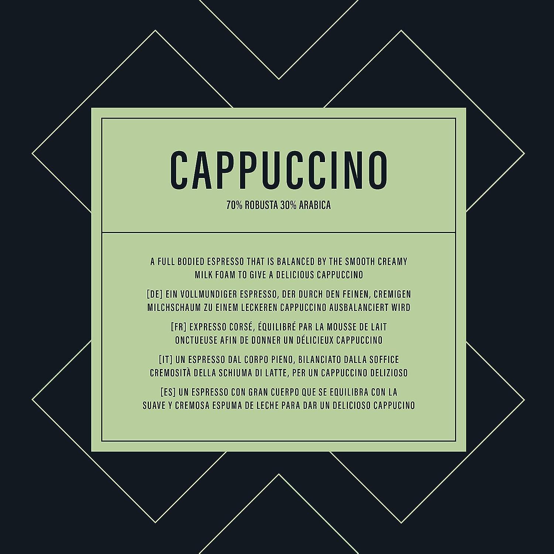 Marca Amazon- Happy Belly - Cápsulas de café Cappuccino compatibles con NESCAFÉ* DOLCE GUSTO*, UTZ, 3x 16 cápsulas (24 porciones): Amazon.es: Alimentación y ...