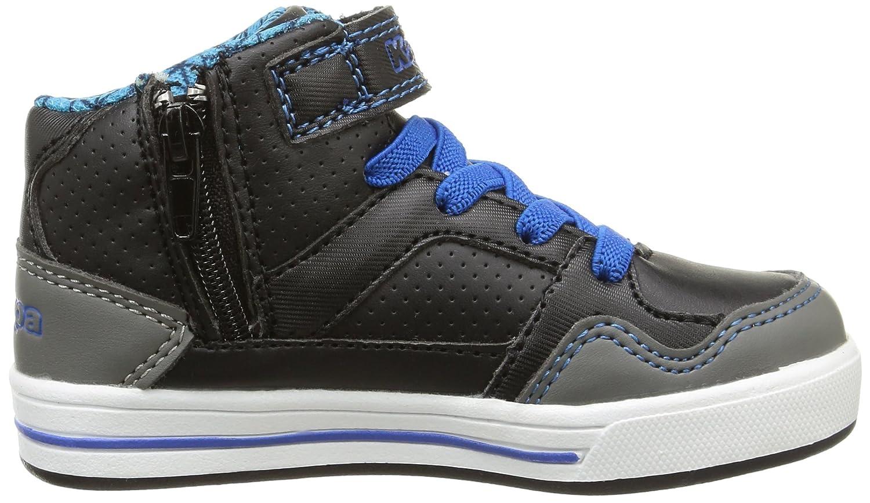 Kappa Alphor MD, Chaussures Bébé Marche Bébé Garçon, Noir (961/Black/Electric  Blue), 22 EU: Amazon.fr: Chaussures et Sacs