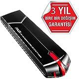 ASUS USB-AC68 - Adaptador Inalámbrico USB 3.0 Wi-Fi Dual Band AC1900 (AiRadar, MIMO 3T4R)