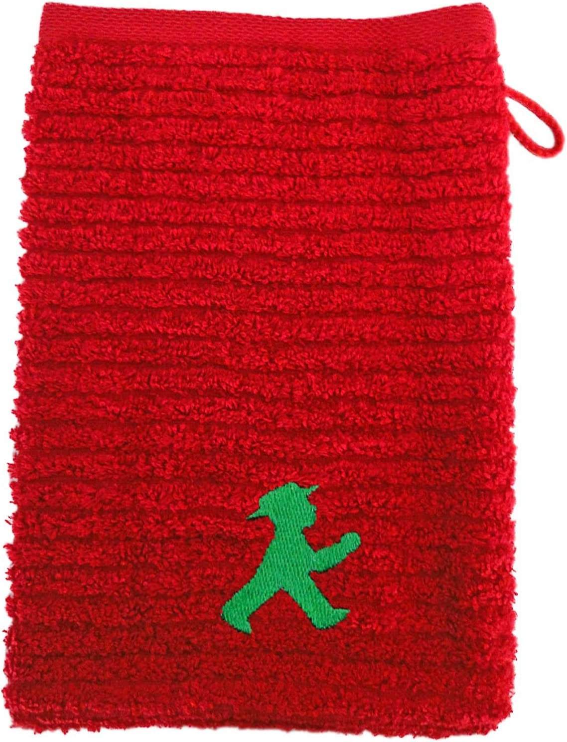 AMPELMANN Gant Masseur mod/èle Vert de feu Rouge