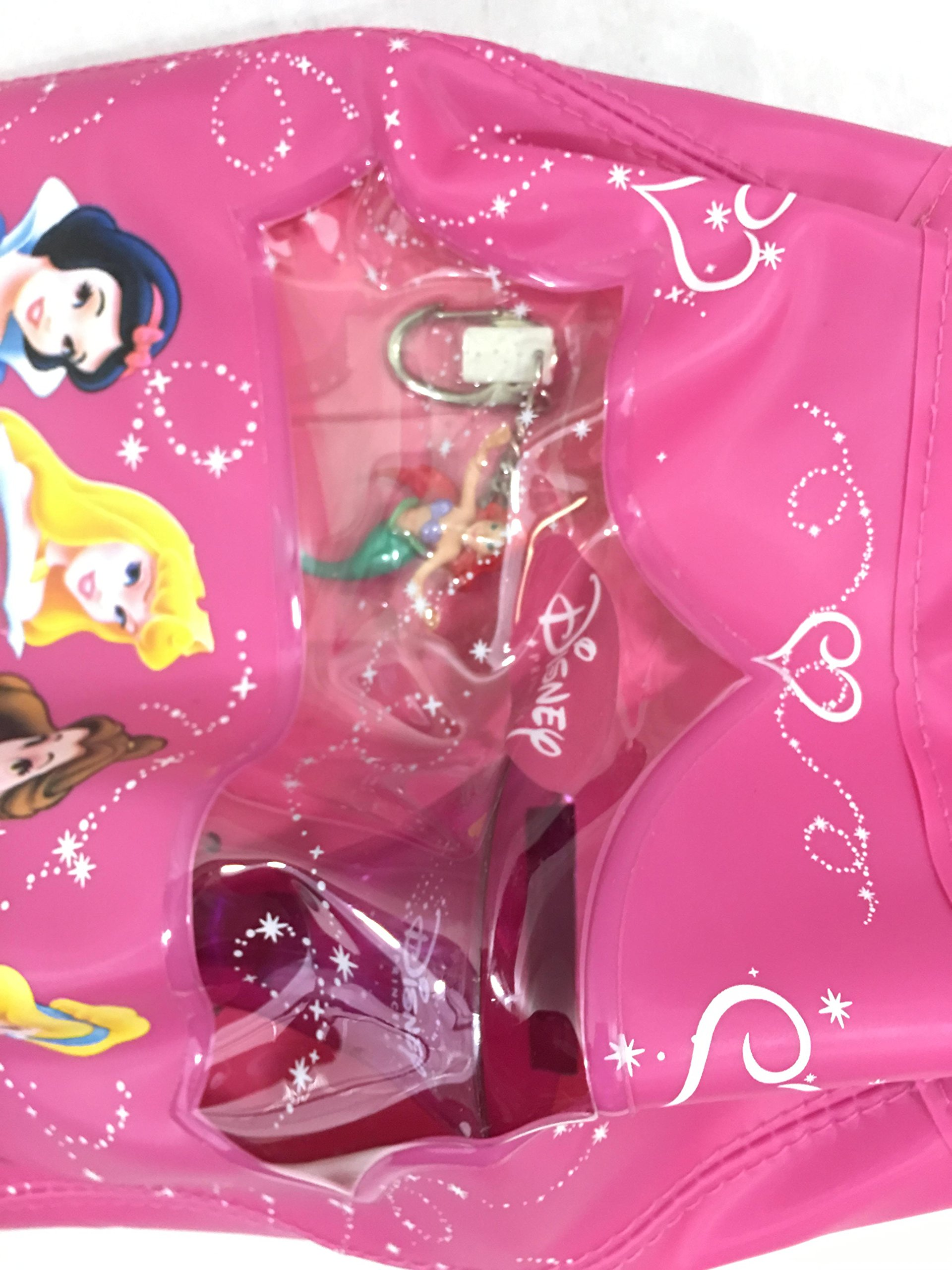 Disney Princess Bicycle Gear Set Bike Lock Pink Horn & Shoulder Bag