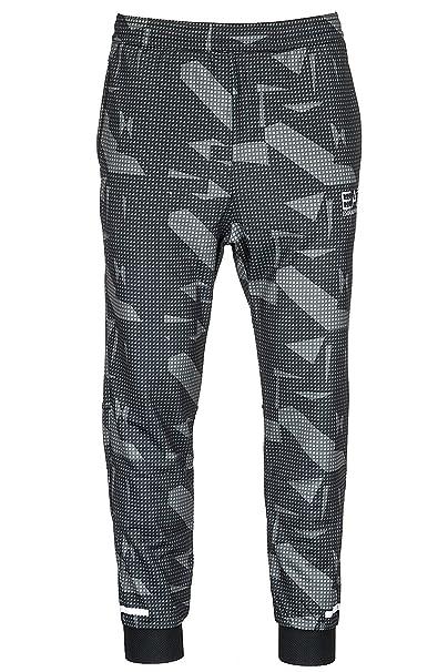 Emporio Armani EA7 pantalones deportivos hombre negro EU M (UK 32) 3ZPP55PJ16Z2223