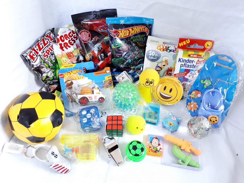 101306 24er Set Spielsachen als Füllung für Schultüte oder Adventskalender kleine Geschenke für Kinder Jungen und Mädchen Mitgebsel Geschenkpost24