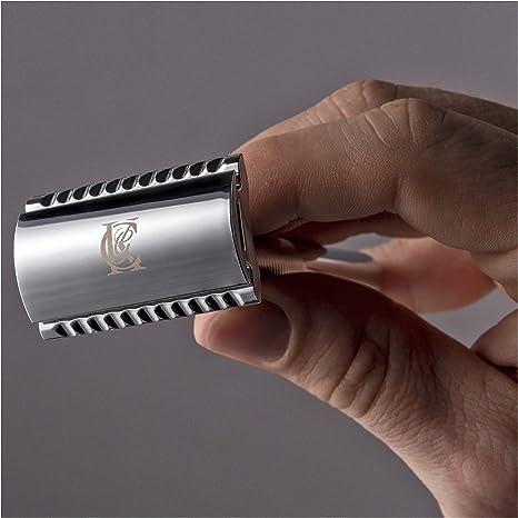 Gillette King C. Afeitadora de hombre de seguridad – 5 cuchillas ...