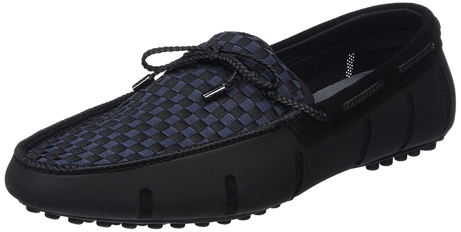 84f59a8ee4974 Amazon.com: Swims Men's Shoes Lace Up Woven Loafer: Clothing