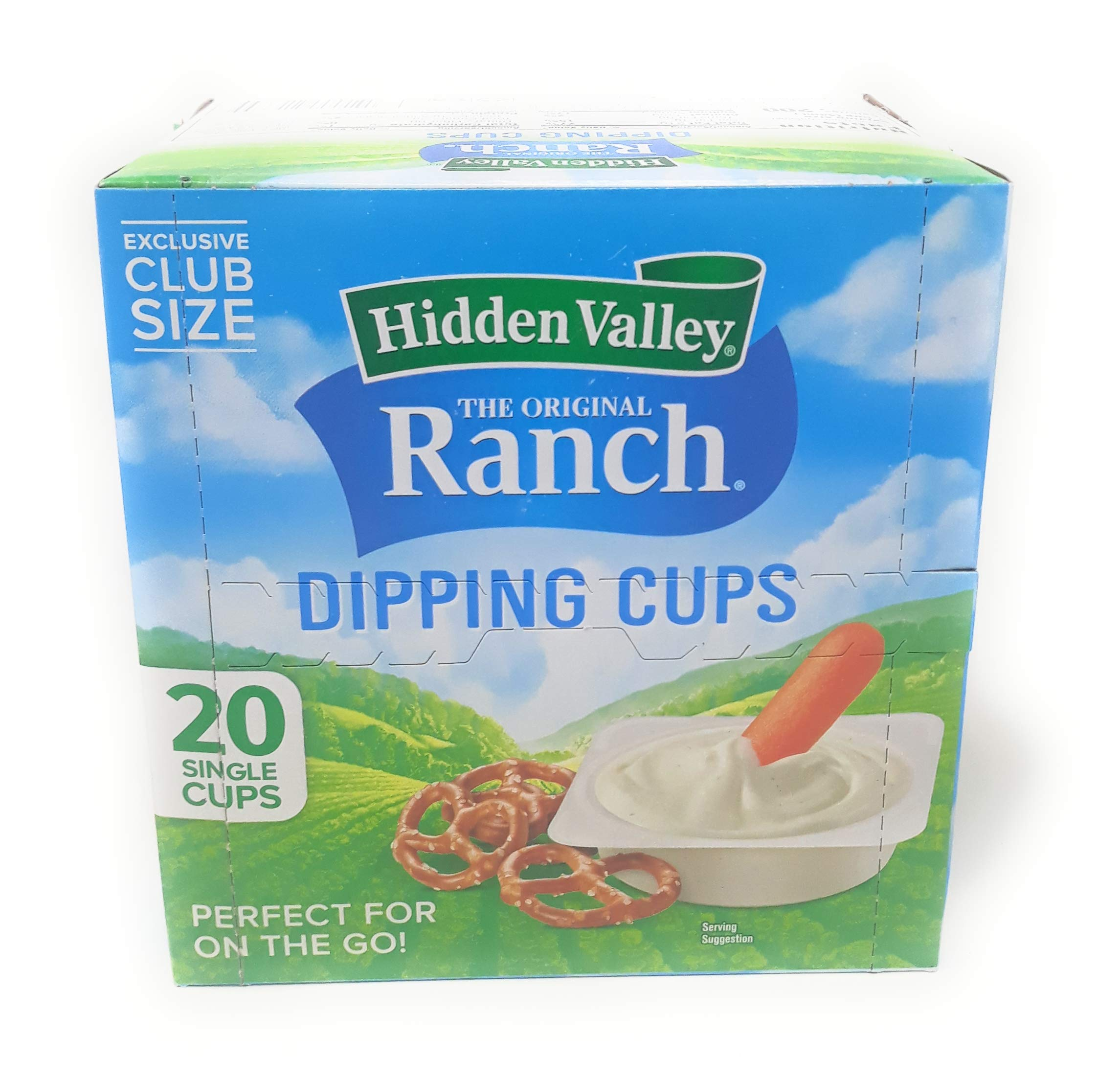 Hidden Valley Ranch Dipping Cups 20 count by Hidden Valley