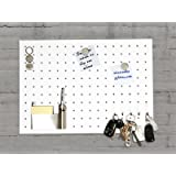 Master of Boards Magnetic Memo Board, Stainless Steel Message Board | Ideal for Kitchen | Singapore - 35x50cm - white