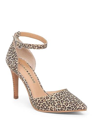 e417a28a71 Amazon.com | Lucky Women's LK Tukko Sesame Persian Leopard Pump 5.5 ...