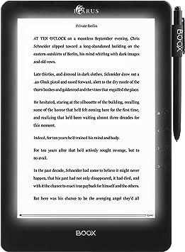 Icarus E1053BK lectore de e-Book Pantalla táctil WiFi Negro ...