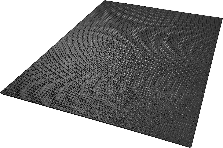 TecTake Conjunto de esteras de protección esteras para Suelo | Antideslizante, Repelente de Suciedad | Sistema empotrable Ampliable - Varias ...