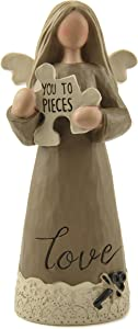Blossom Bucket Puzzle Piece Angel Home décor