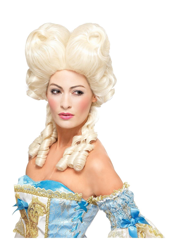 Smiffys Adult Deluxe Marie Antoinette Wig Standard: Amazon ...
