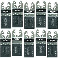 10 x TopsTools Cuchillas de 35mm para metal