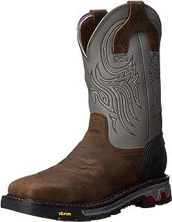 Amazon.com: Justin Mens Commander-X5 Steel Work Boots: Shoes