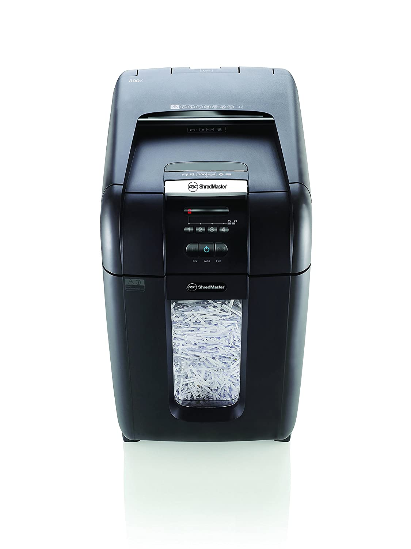 GBC AUTO+ 300X Auto Feed Paper/CD/Credit Card Cross Cut
