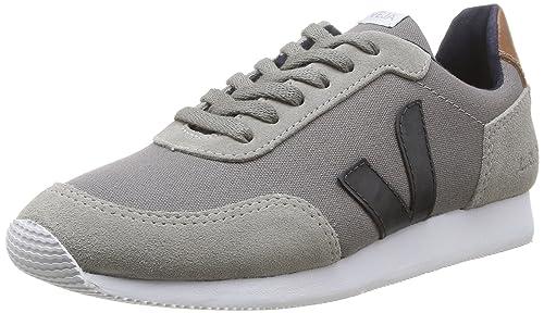 Veja Arcade - Zapatillas de Deporte de Canvas para Mujer Gris Gris (Grey Oxford/Grey Nautico) 39: Amazon.es: Zapatos y complementos