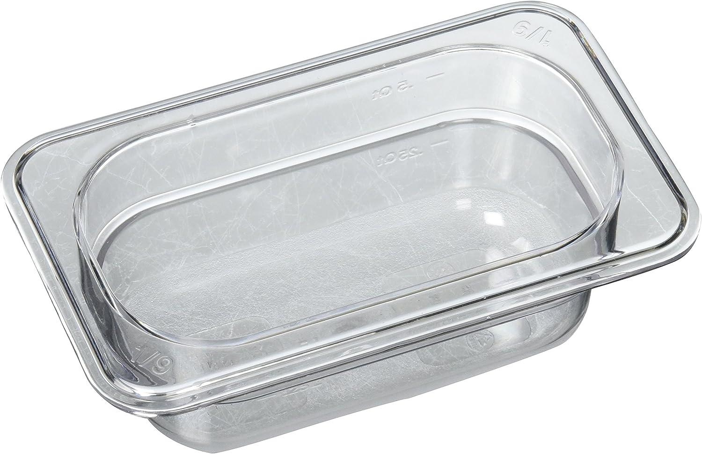 2 1//2-Inch Winco SPQ2 1//4 Size Pan