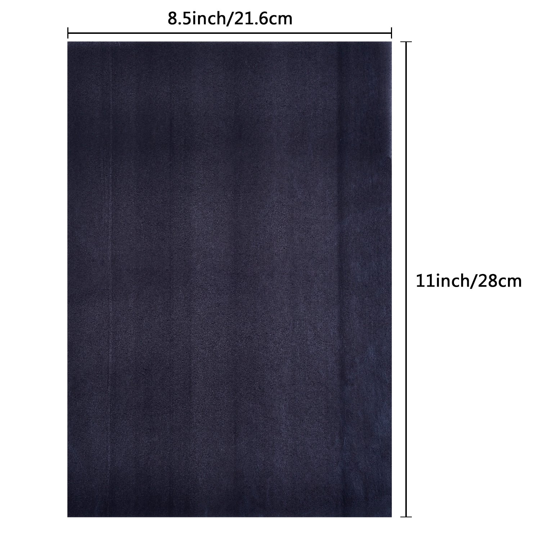 Carbon Transfer Papier Kohlepapier Pauspapier 9 x 13 Zoll f/ür Holz Papier Segeltuch 30 Bl/ätter