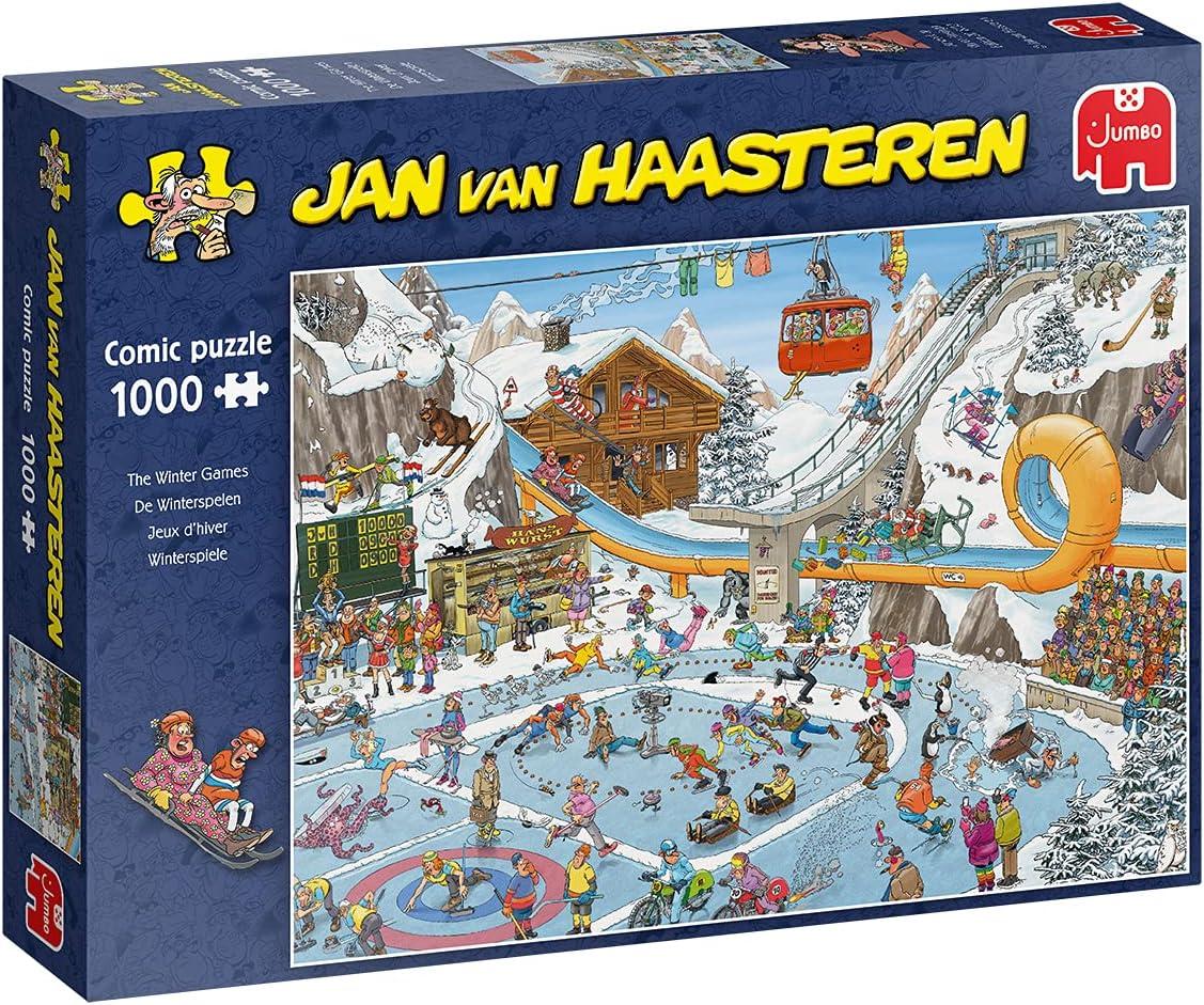 Jumbo 19065 Jan van Haasteren - Winter Games Jigsaw Puzzle