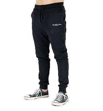 9931f306ace5 Headquarters Tech Fleece Mens Slim Fit Joggers Athletic Sweatpants Pants ( Black