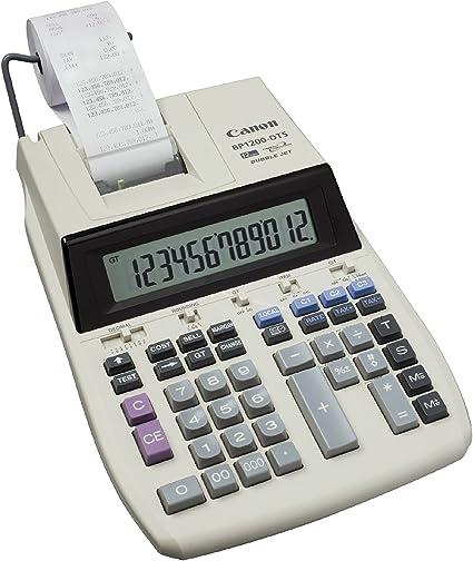 Canon BP1200-DTS - Calculadora sobremesa impresión (TFT, 19.5/8.3 ...