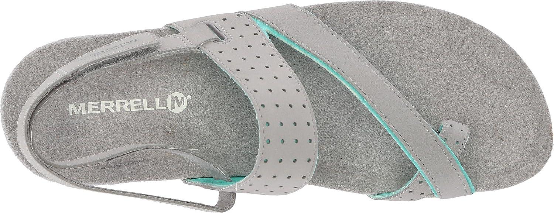 MERRELL Terran Ari Wrap TAUPE Sport Sandal Thong Slide NIB Wmns Sz 9 10 11 Med