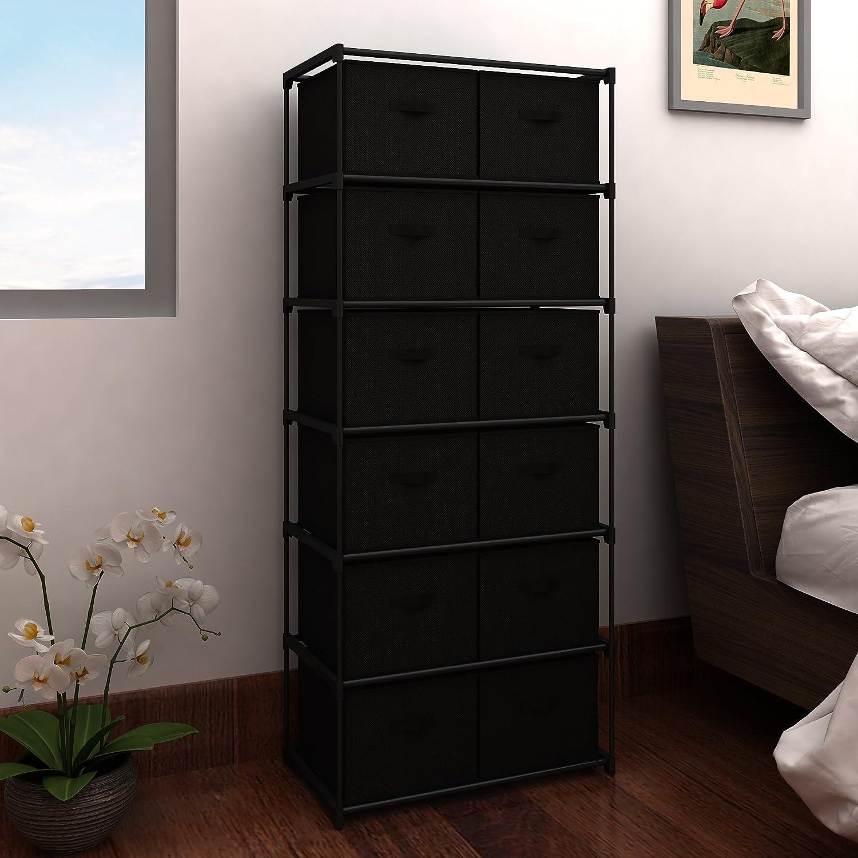Amazoncom MULSH Storage Shelf Drawer Chest Organizer