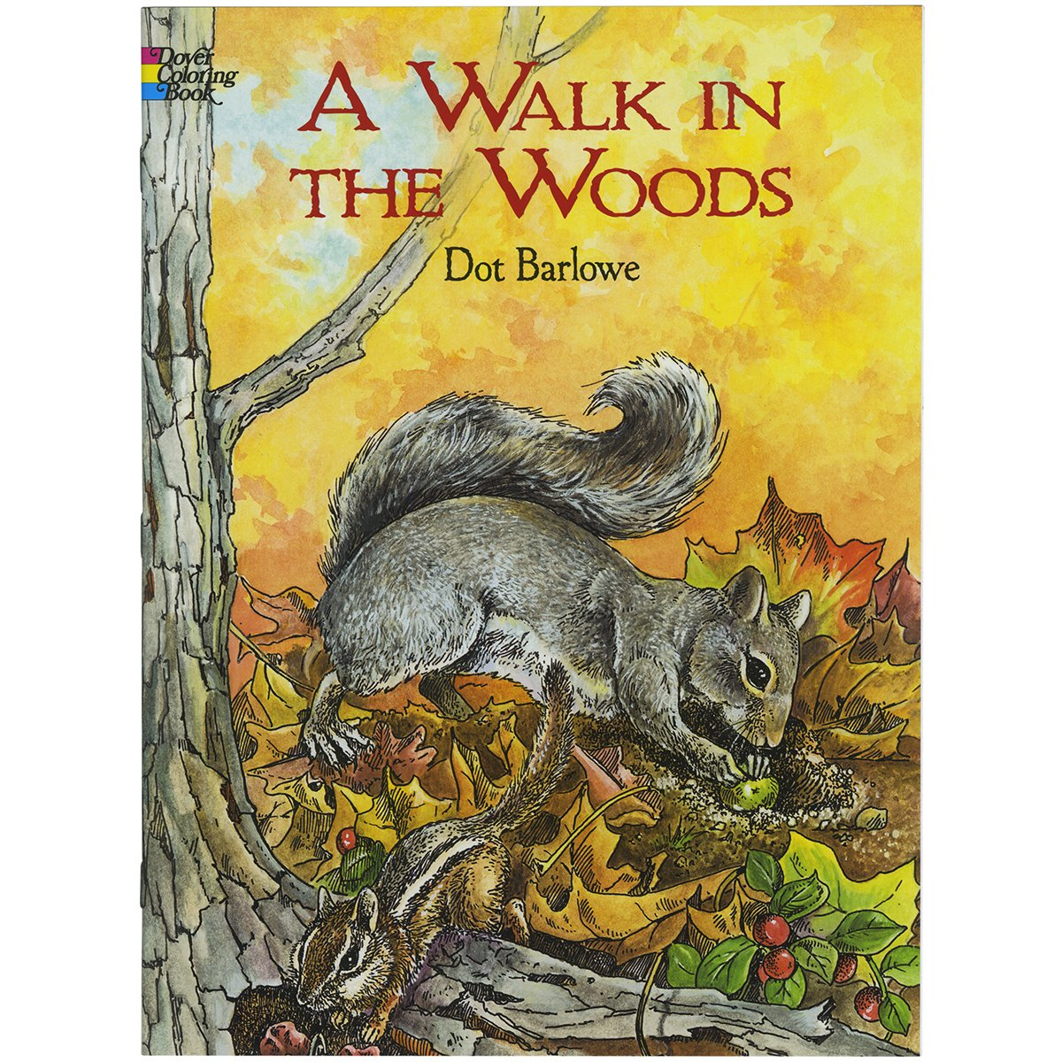 A Walk in the Woods (Dover Nature Coloring Book): Dot Barlowe ...