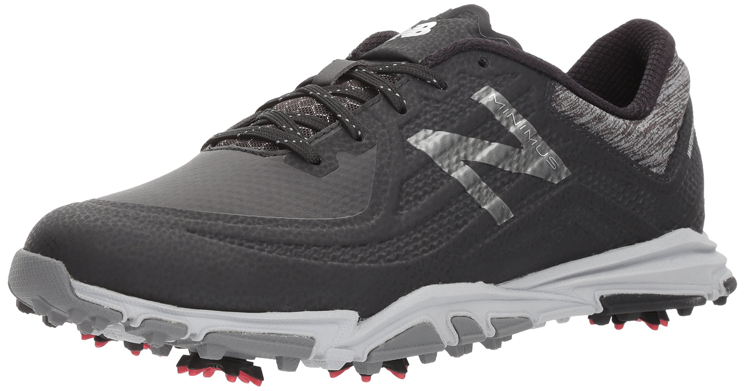 New Balance Men's Minimus Tour Golf Shoe, Black, 13 2E 2E US by New Balance