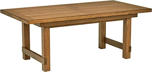 Stone Beam Parson Trestle Dining Table