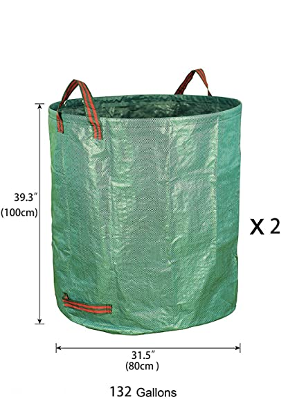 Amazon.com: Bolsas para residuos de jardín, 72 galones ...
