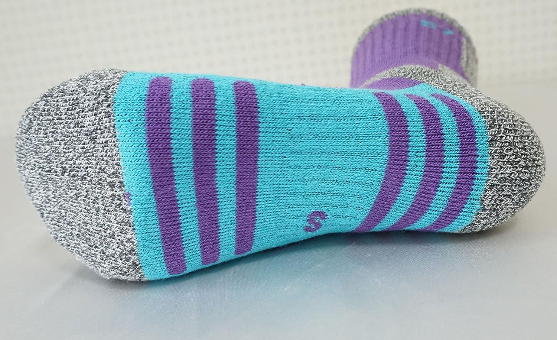 5Pack Women's Climbing Bio DryCool Mid Cushion Hiking/Performance Socks
