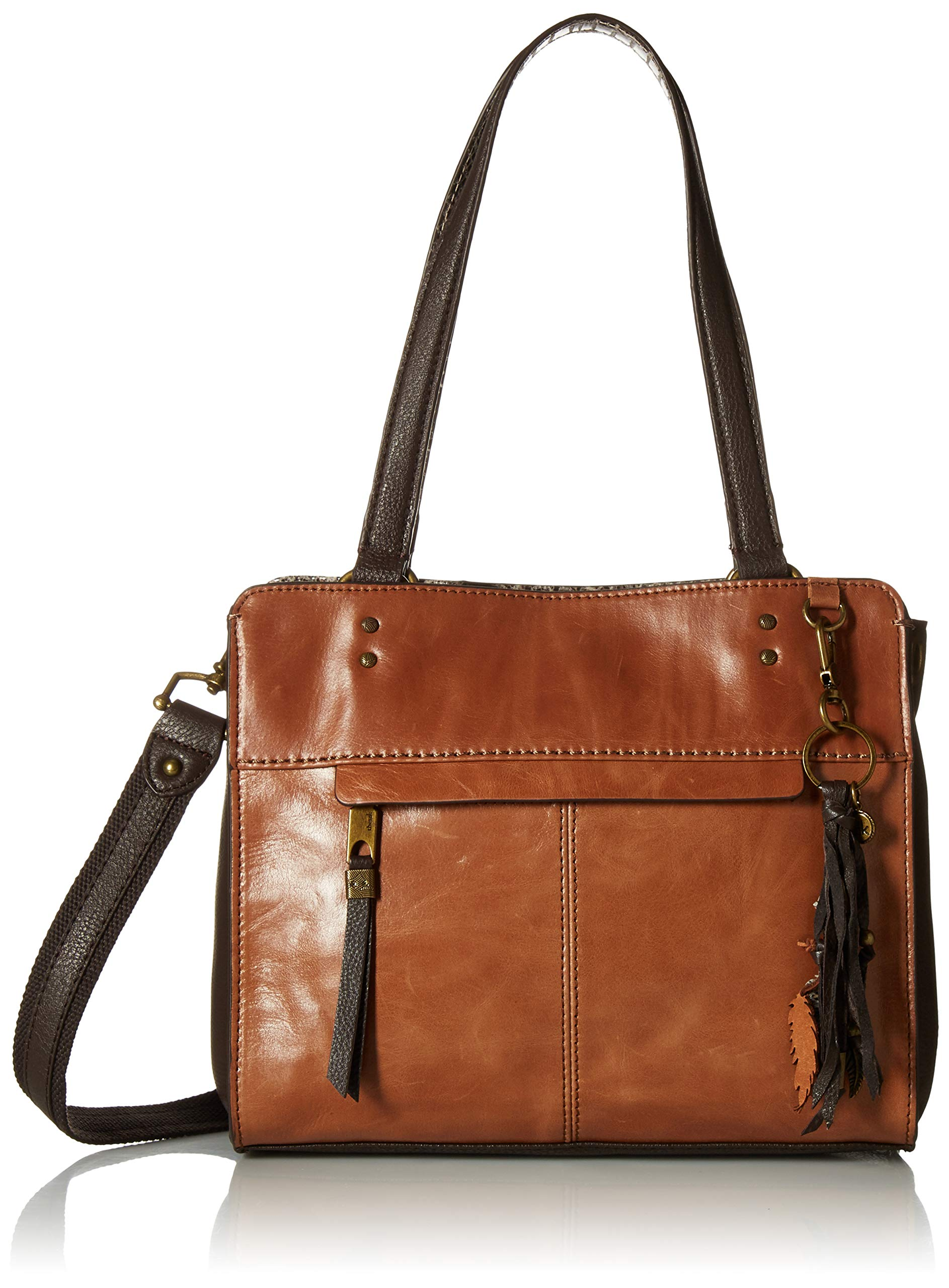 The Sak Women's Alameda Satchel-Tobacco Snake Multi