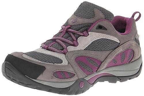 Merrell AZURA WTPF - Zapatos de senderismo de cuero mujer: Amazon.es: Zapatos y complementos