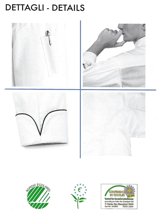EGOCHEF Giacca Cuoco Ice Microfibra con Maniche Lunghe
